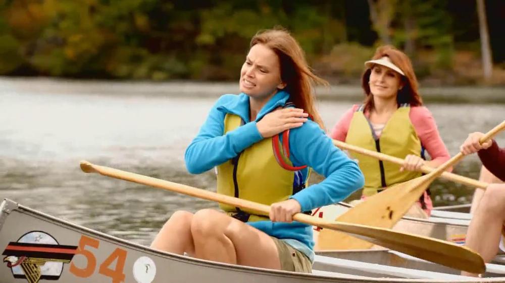 Aspercreme TV Commercial, 'Canoeing'