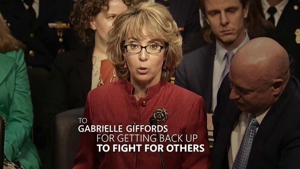 gabrielle giffords surprise return - HD1440×810