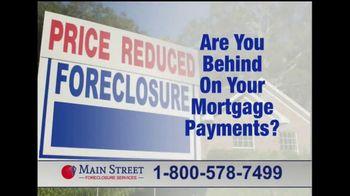 Main Street Foreclosure Services TV Spot, 'Good News'