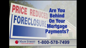 Main Street Foreclosure Services TV Spot, 'Good News'