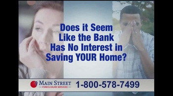 Main Street Foreclosure Services TV Spot, 'Good News' - Thumbnail 2