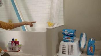Huggies Pull-Ups Learning Designs TV Spot, 'David's First Flush' - Thumbnail 5