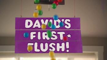 Huggies Pull-Ups Learning Designs TV Spot, 'David's First Flush' - Thumbnail 9