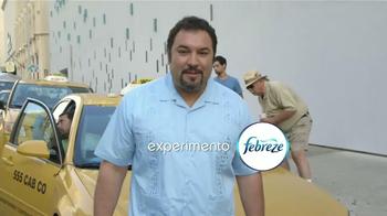 Febreze Car Vent Clips TV Spot, 'Taxi' [Spanish] - Thumbnail 1