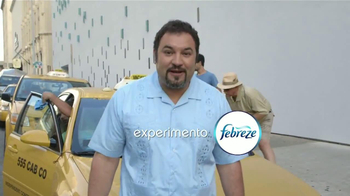 Febreze Car Vent Clips TV Spot, 'Taxi' [Spanish]