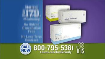 Lowe's Iris Smart Home Management System TV Spot - Thumbnail 10