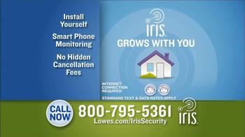 Lowe's Iris Smart Home Management System TV Spot - Thumbnail 9