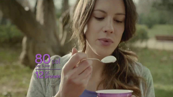 Dannon Light & Fit Greek Blends TV Spot, 'Paper Ice Cream'