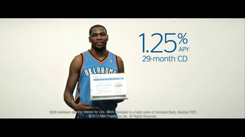 BBVA Compass TV Spot Featuring Kevin Durant - Thumbnail 10
