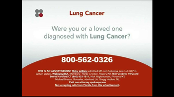 Sokolove Law TV Spot, 'Lung Cancer' - Thumbnail 1