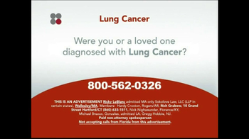 Sokolove Law TV Spot, 'Lung Cancer' - Thumbnail 2