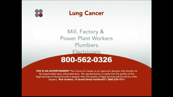 Sokolove Law TV Spot, 'Lung Cancer' - Thumbnail 4