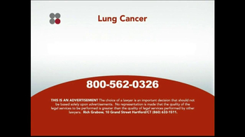 Sokolove Law TV Spot, 'Lung Cancer' - Thumbnail 5