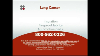 Sokolove Law TV Spot, 'Lung Cancer' - Thumbnail 7