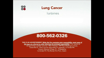 Sokolove Law TV Spot, 'Lung Cancer' - Thumbnail 8