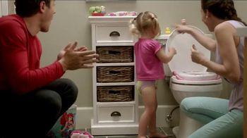 Huggies Pull-Ups Learning Designs TV Spot, 'First Flush: Little Mermaid'