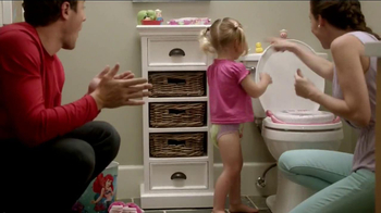 Huggies Pull-Ups Learning Designs TV Spot, \'First Flush: Little Mermaid\'