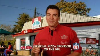 Papa John's 30th Anniversary TV Spot, 'Large One Topping 30¢' - Thumbnail 1