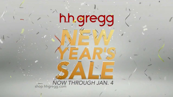 h.h. gregg New Year's Sale TV Spot