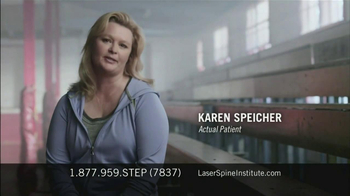 Laser Spine Institute TV Spot, 'First Step' - Thumbnail 6