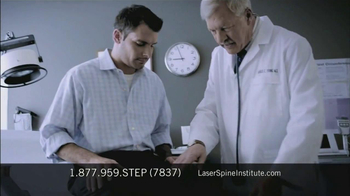 Laser Spine Institute TV Spot, 'First Step' - Thumbnail 7