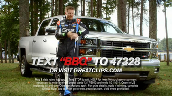 Great Clips TV Spot, 'Best Weekend' Featuring Dale Earnhardt Jr. - Thumbnail 10