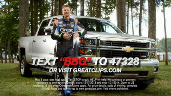 Great Clips TV Spot, 'Best Weekend' Featuring Dale Earnhardt Jr. - Thumbnail 7