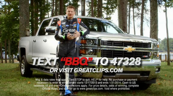 Great Clips TV Spot, 'Best Weekend' Featuring Dale Earnhardt Jr. - Thumbnail 8