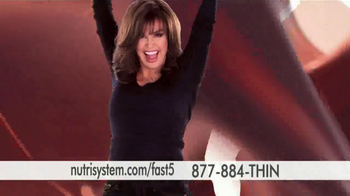 Nutrisystem Fast 5 TV Spot, 'Built for You' - 1300 commercial airings