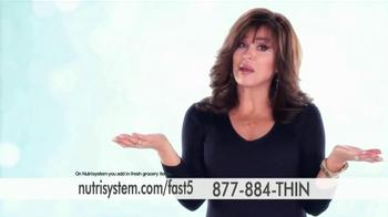 Nutrisystem Fast 5 TV Spot, 'Built for You' - Thumbnail 5