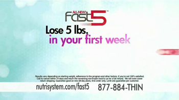 Nutrisystem Fast 5 TV Spot, 'Built for You' - Thumbnail 9