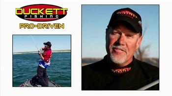 Duckett Fishing TV Spot, 'Pro Driven' - Thumbnail 2
