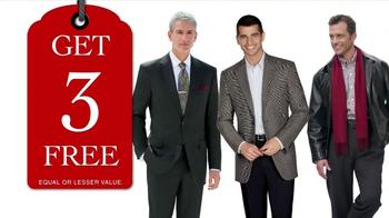 JoS. A. Bank TV Spot, 'Buy One, Get Three Free January 2013' - Thumbnail 5