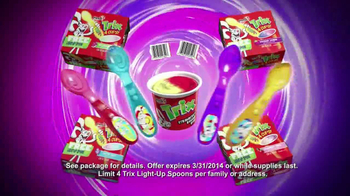 Trix Yogurt TV Spot, 'Light Up Spoons' - Thumbnail 10