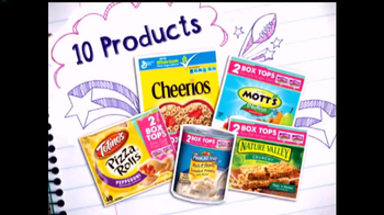 Safeway TV Spot, 'Box Tops for Education'