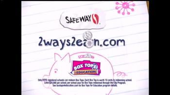 Safeway TV Spot, 'Box Tops for Education' - Thumbnail 5