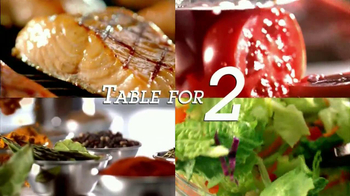Red Lobster Table for Two TV Spot, 'What's Different?'