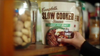Campbell's Slow Cooker Sauces TV Spot