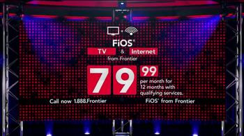 Frontier FiOS TV Spot, 'The FiOS Factor' - Thumbnail 4