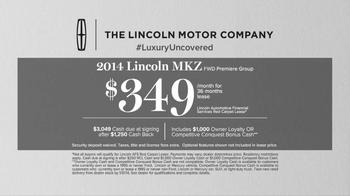 2014 Lincoln MKZ TV Spot, 'Blushing' - Thumbnail 10