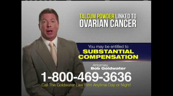 Goldwater Law Firm TV Spot, 'Ovarian Cancer' - Thumbnail 6