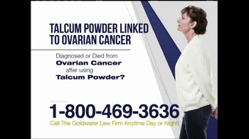 Goldwater Law Firm TV Spot, 'Ovarian Cancer'