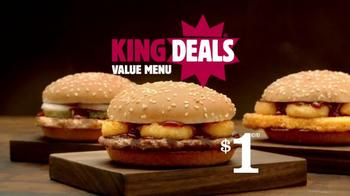 Burger King Rodeo Burger TV Spot [Spanish] - Thumbnail 9