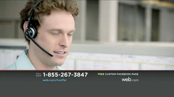 Web.com TV Spot, 'Free Facebook Page' - Thumbnail 5
