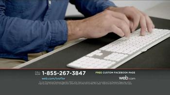 Web.com TV Spot, 'Free Facebook Page' - Thumbnail 7