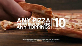 Pizza Hut Big Dinner Box TV Spot, 'Have It All' - Thumbnail 9