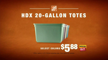The Home Depot TV Spot, 'Storage' - Thumbnail 10