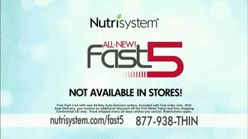 Nutrisystem Fast 5 TV Spot Featuring Marie Osmond - 383 commercial airings