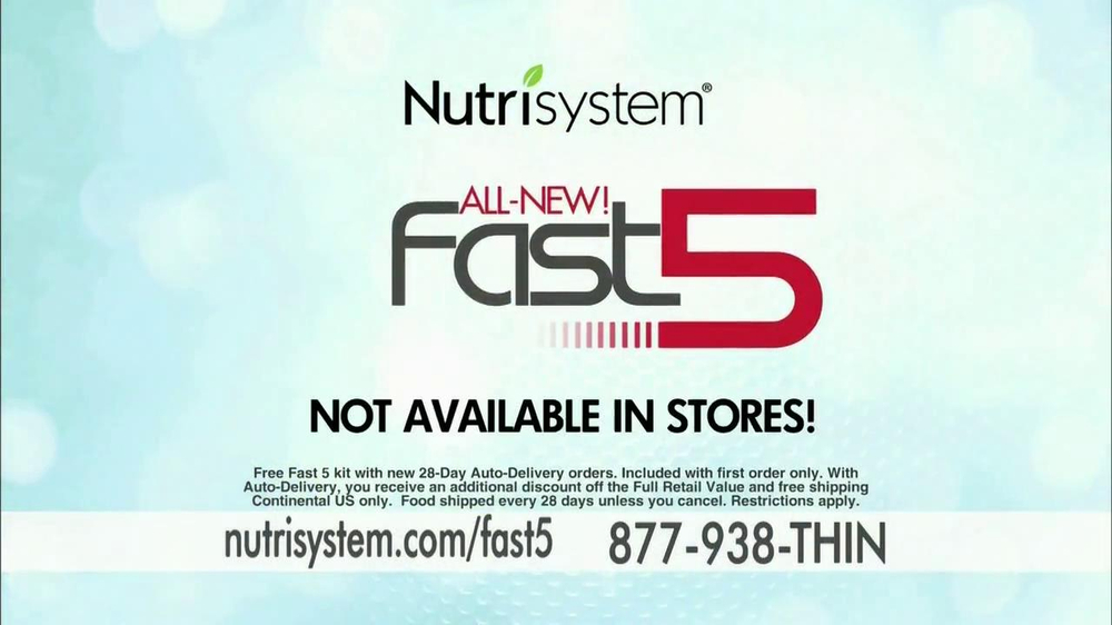 Nutrisystem Fast 5 TV Commercial Featuring Marie Osmond