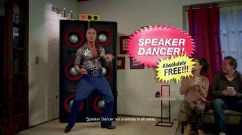 Tostitos Fajita Scoops TV Spot, 'Speaker Dancer'